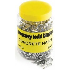 CONCRETE NAILS 25mm 1kg